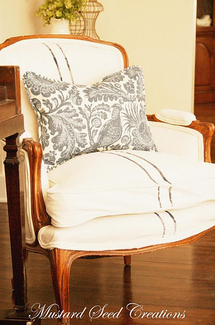 Drop Cloth Upholstery Garden Home Amp Party