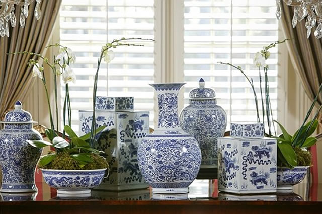 Ghp A Blue And White Infusion Garden Home Amp Party