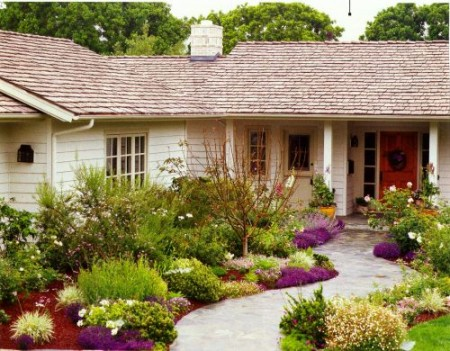 Front Yard Without Grass Native Home Garden Design